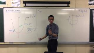 Parametric Equation of Chord (1 of 2: The Gradient)