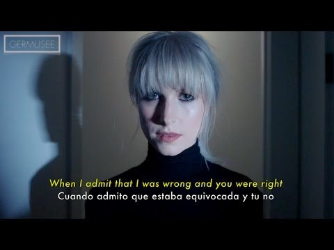 Paramore - Told You So (Subtitulada en Español + Lyrics) [Official Video]