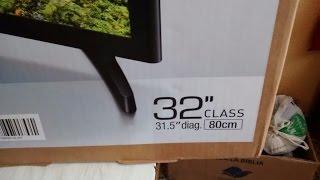 Samsung UE32J4500 SMART TV unpacking
