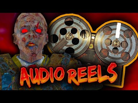 BLOOD OF THE DEAD Secret Lord & Brutus Conversation!!!! ALL 5 AUDIO REELS & LOCATIONS