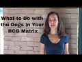 What to Do with the Dogs in Your BCG Matrix
