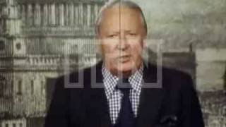 Margaret Thatcher and Edward Heath speak about European Common Market