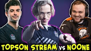 TOPSON on STREAM with VOICE — dominating Ceb + Noone team