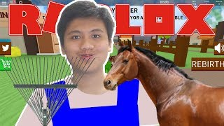 What kind of ranch is this?! : V-Roblox Indonesia Farming Simulator