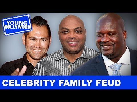 NBA Vs MLB On Celebrity Family Feud!