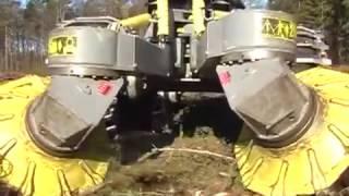 Вот это трактор! Это надо увидеть! Scarifier Bracke Forest T26 a Disc trencher