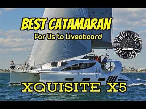 Xquisite X5  Best 50' Catamaran For Liveaboard  Full Tour  Annapolis  Sailboat Show 2017
