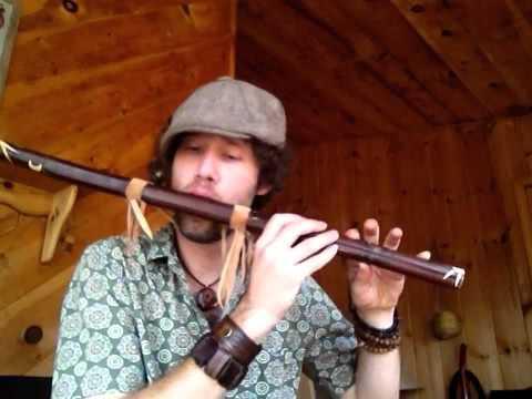 A 432 HZ Deep Native Voice flute- for sale on etsy-Rewildyoursoul