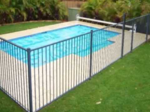 Pool Fence Design Ideas - YouTube