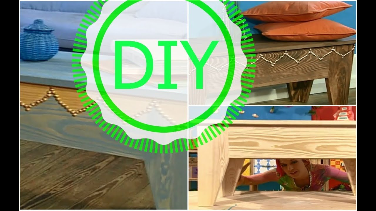 unbehandelte holzm bel umgestalten diy dekotipp ziern geln youtube. Black Bedroom Furniture Sets. Home Design Ideas
