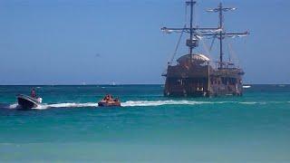 Как добраться в Пунта-Кану. Пляж. Город Баваро (Punta Cana. Dominican Republic)