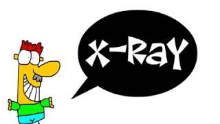 X Harfi ile ilgili bir Karikatür