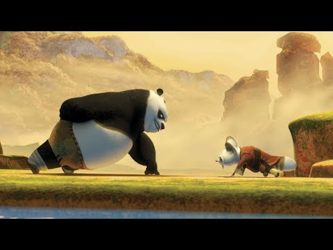 Po (🐼) Training Scene | Kung Fu Panda