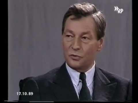 Alfred Herrhausen INTERVIEW (1/3) (DEUTSCHLAND-FUNK) [Info 15B.1]