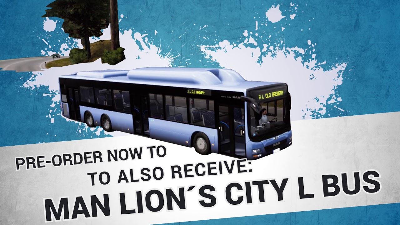 Bus Simulator - PS4 pre-order trailer (EN)