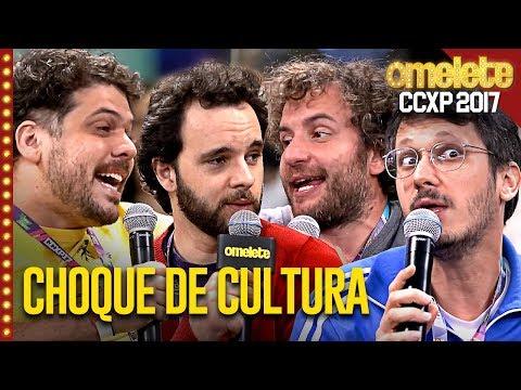 CHOQUE DE CULTURA AO VIVO NA CCXP!