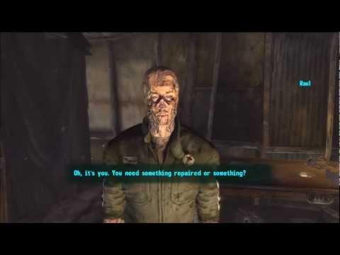 Fallout New Vegas - Infinite Free Repairs From Raul
