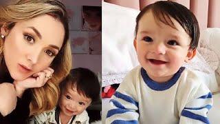 Sherlyn muestra lo hermoso y grande que está su hijo André de 9 meses