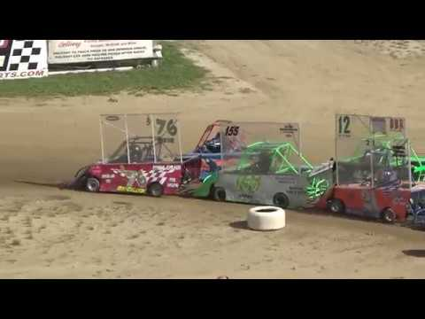 Mini Wedge 6-9 yrs Feature Race at Crystal Motor Speedway, Michigan on 09-16-2018!