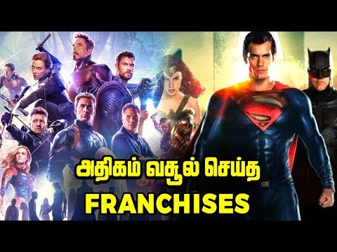 Top 5 HIGHEST GROSSING Movie Franchises Explained In Tamil