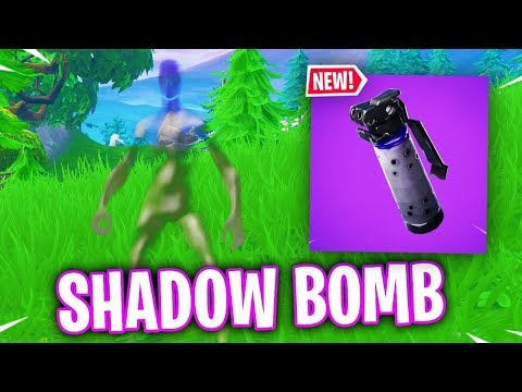 The terrible... NEW SHADOW BOMB in Fortnite.. (Shadow Bomb Gameplay)