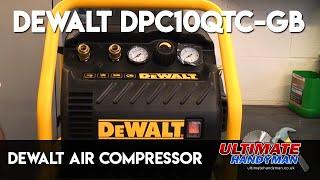 Dewalt Air compressor | Dewalt DPC10QTC-GB