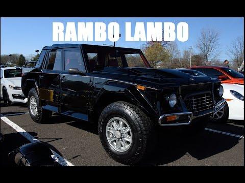 Rambo Lambo The Ultra Rare Lamborghini Truck Bucks County Exotics