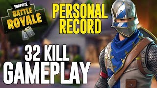 32 Kill Solo Squads!! Fortnite Battle Royale Gameplay - Ninja thumbnail