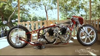 lowbrow customs awesome triumph clip from born free motorcycle movie