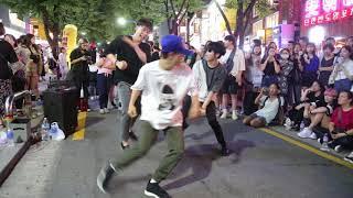 JHKTV]홍대댄스 전 디오비 윈윈 hong dae k-pop dance former dob (win win) 숙녀 (淑女) Lady