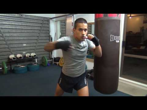 Violent Boxing Haymaker Combo!