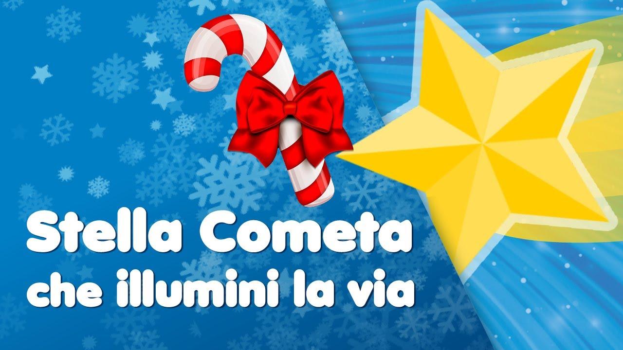 Canzone Di Natale Stella Cometa Testo.Buon Natale Luce Che Illumini La Via La Stella Cometa
