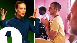 """""""This is BANANA TOWNS!"""" Sarah Paulson gives her unique take on Glass and Bird Box"""