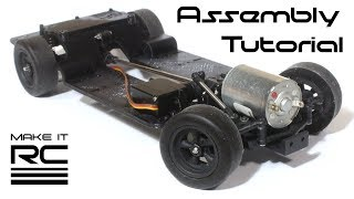 Het RC FFR SC1 Rollend Chassis Montage Tutorial