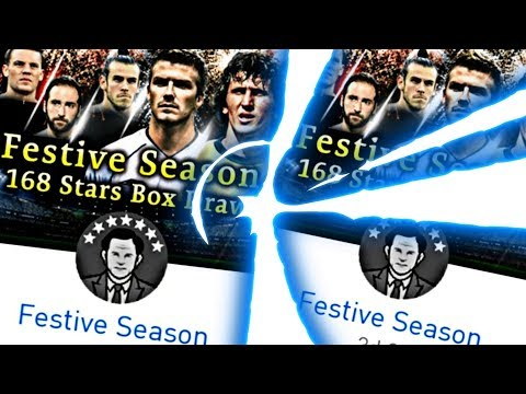 BALL OPENING NOVA BOX DRAW FESTIVE SEASON!!! - PES 2018 MOBILE