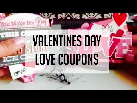 Valentines Day Love Coupon Book
