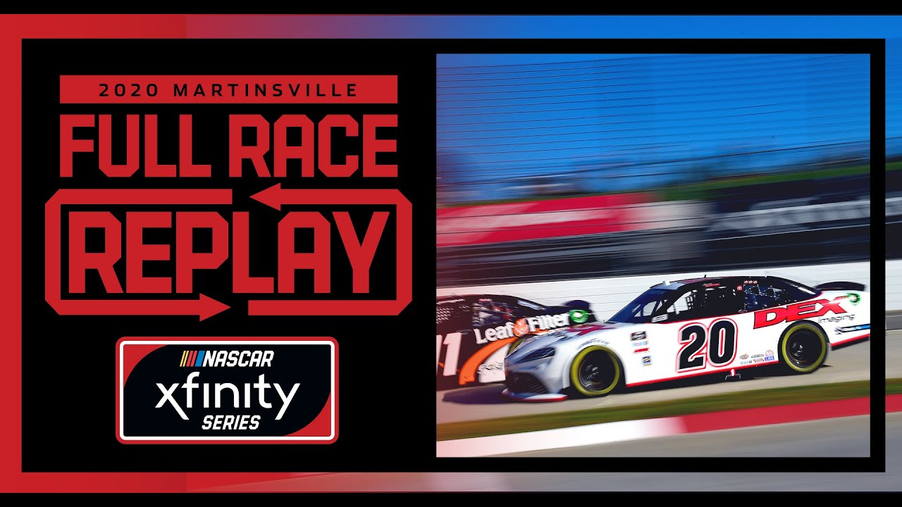 Draft Top 250 from Martinsville Speedway | NASCAR Xfinity Series Full Race Replay | NASCAR Playoffs