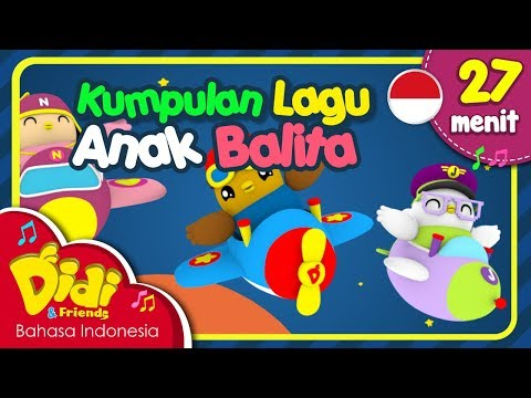 Lagu Anak Balita Indonesia | Ayun Cepat-Cepat & Lain-Lain | Didi & Friends | 27 Menit