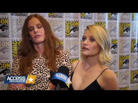 Emilie de Ravin & Rebecca Mader  Access Hollywood  sub ita .