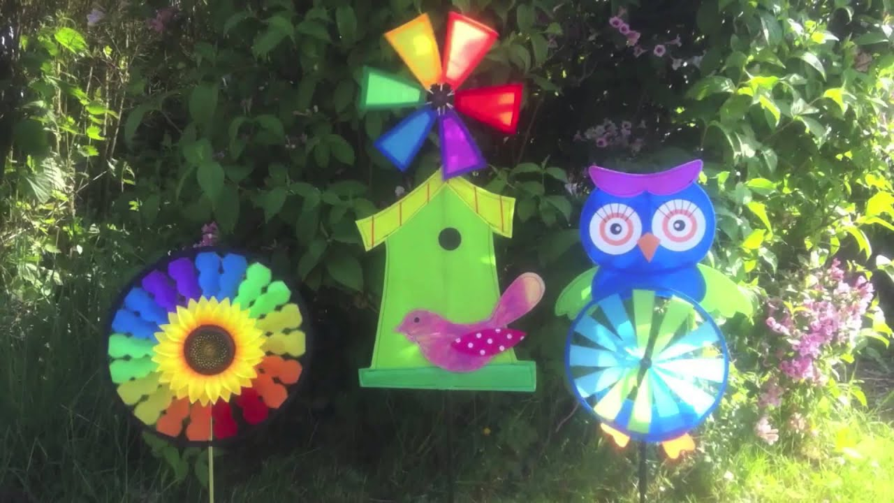 Moulin vent d coratif pour le jardin youtube - Moulin a vent decoratif ...