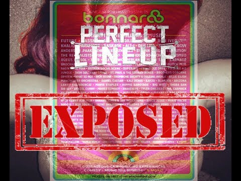 BONNAROO FAMILY 2018 LINEUP EXPOSED Mp3
