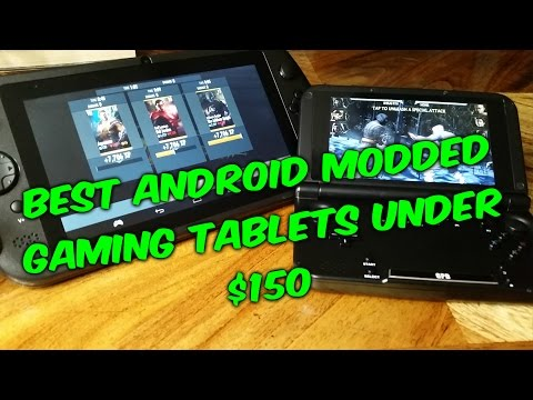 The Best 2 Android Gaming Tablets For Under 150usd- GPD Q9 Vs GPD XD Review