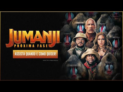 Jumanji: Próxima Fase | Para assistir quando e como quiser