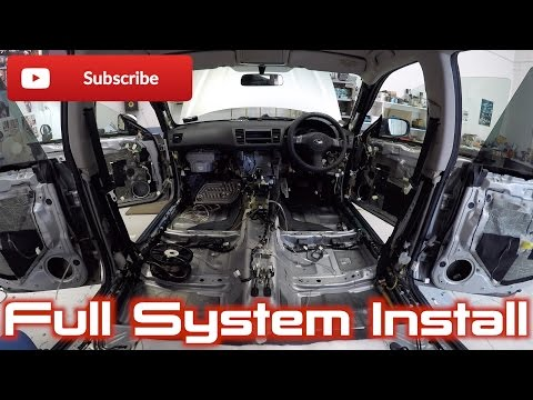 Youtube Fan's 04 Legacy Sound System Install! | Part 1
