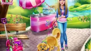 Baby Hazel Games- Barbie Puppy Potty Training– baby games