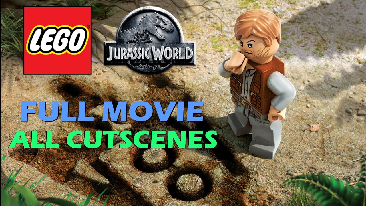 lego jurassic world all cutscenes full movie youtube. Black Bedroom Furniture Sets. Home Design Ideas