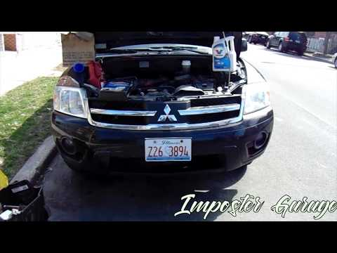 How To Change The Transmission Fluid For A Mitsubishi Endeavor 04-08
