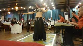 Belly dance in Cairo River Cruise