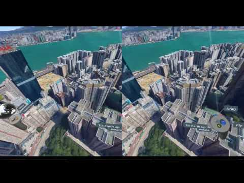 Google Earth VR SBS