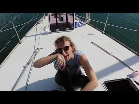 Sail Duos first week onboard Antigua! Set up